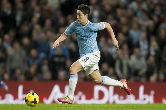 Samir Nasri Discusses Contract Negotiations and Future with Manchester City