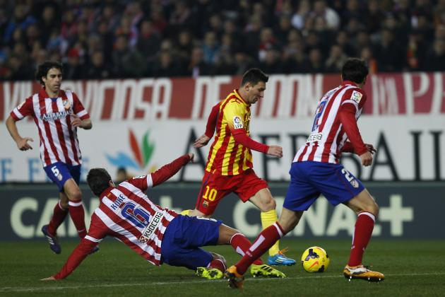 Barcelona vs. Atletico Madrid: Date, Time, Live Stream, TV Info and Preview