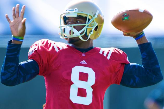 Notre Dame Football: In Defense of Malik Zaire Saying He Will Start the Opener