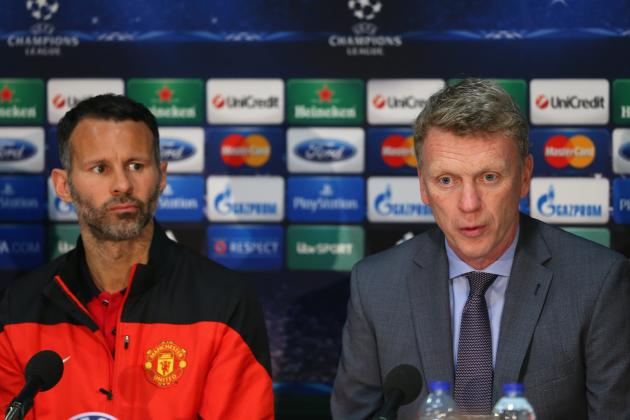 Ryan Giggs Asked If He Plans to Take Over from David Moyes at Manchester United