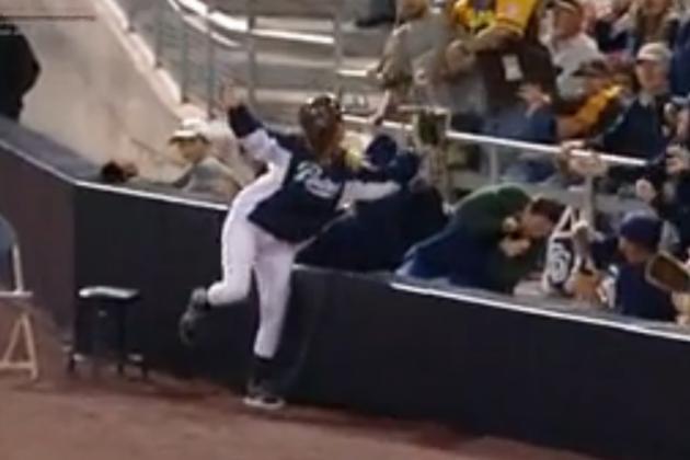 Padres Ball Girl Is Legit