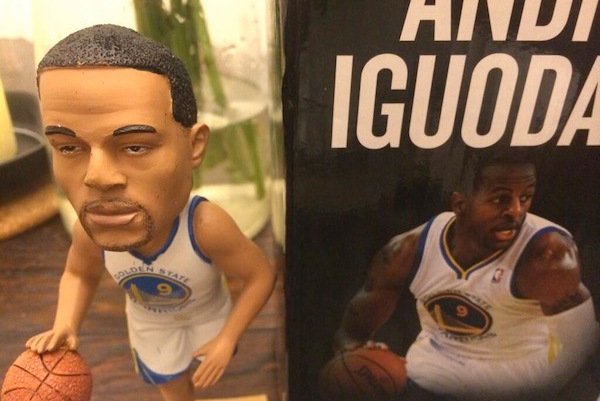 Andre Iguodala Thinks His Bobblehead's Skin Color Is Too 'Light'