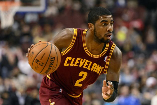 Kyrie Irving Says It's 'Blasphemy' to Think About Him Getting Traded