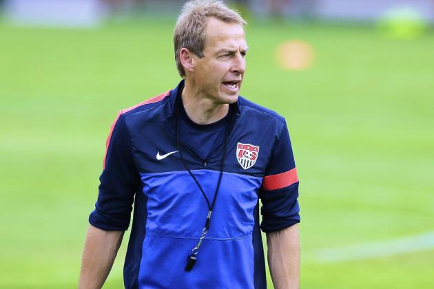 Jurgen Klinsmann Discusses USMNT Changes Surrounding Berti Vogts, Martin Vasquez