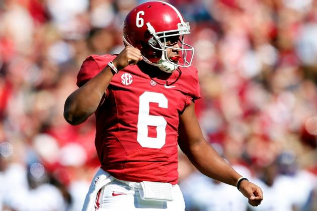 Alabama's Blake Sims Made a Wise Move Working with a Private QB Coach