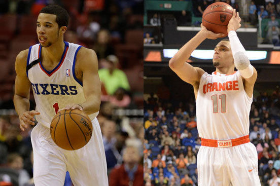 Michael Carter-Williams to Tyler Ennis: 'Enjoy School Right Now...