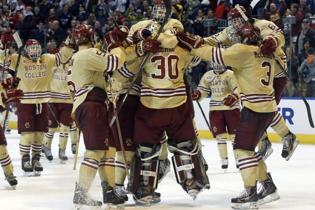 NCAA Hockey Tournament 2014: Schedule, Updated Bracket and Frozen Four Picks