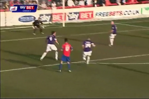 GIF: Freak Double-Ricochet Own-Goal Dooms League Two Oxford United
