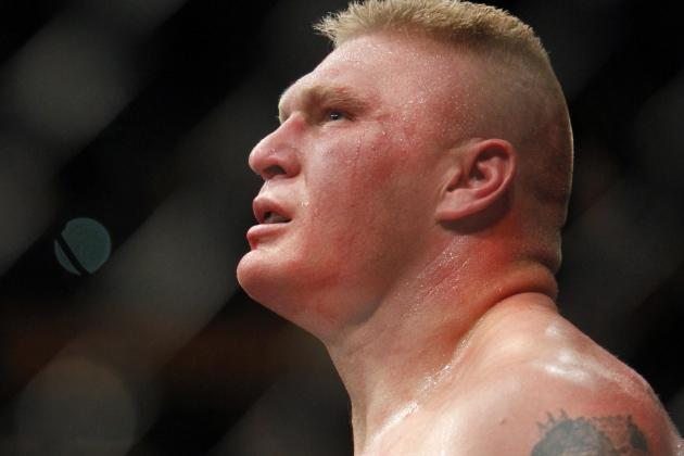 UFC Highlights the Best of Brock Lesnar in New Fight Pass Feature