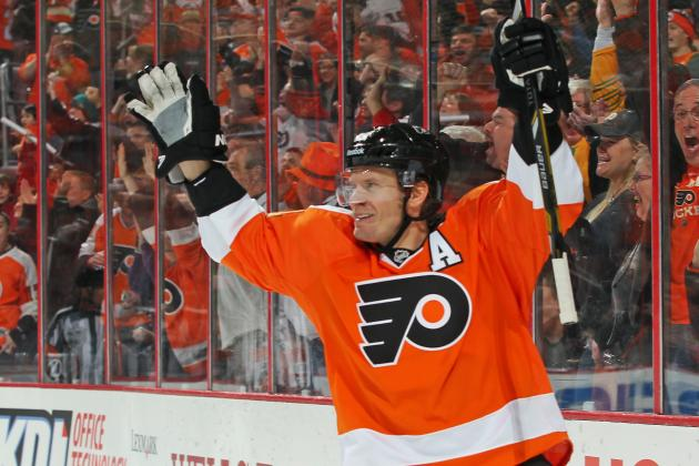 Flyers Likely to Be Without Timonen (Chin) Tuesday vs. St. Louis