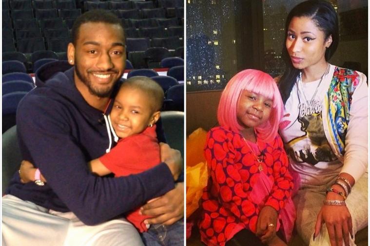 John Wall Helps Young Girl with Cancer Meet Nicki Minaj and Get a Pink Wig