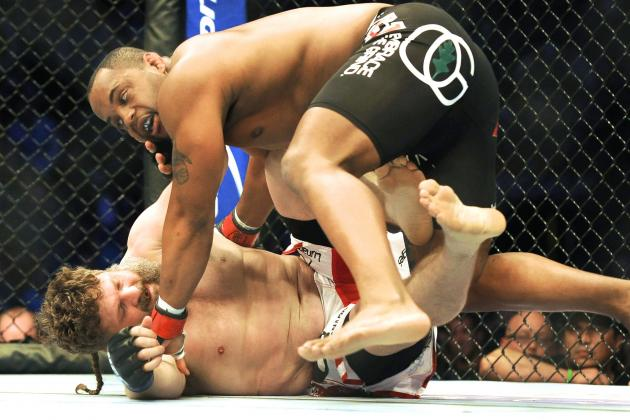 Daniel Cormier vs. Dan Henderson Targeted for July's UFC 175 Event