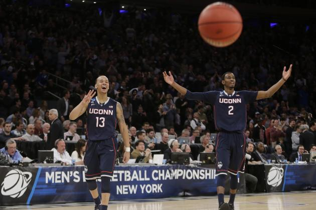 Final Four 2014 Schedule: TV Info and Updated Bracket for NCAA Showdowns