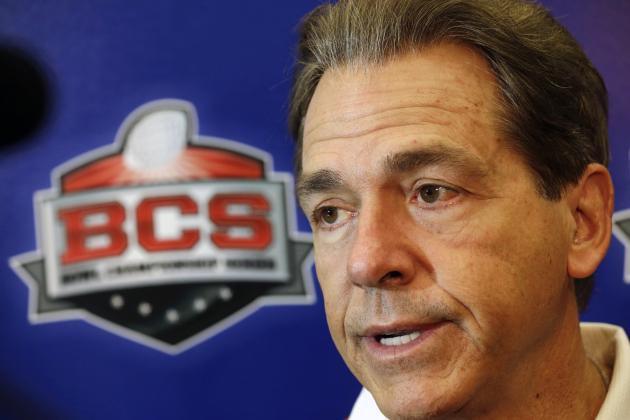Nick Saban Speaks out on Collegiate Athletes Having the Ability to Unionize