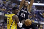 Spurs Top Struggling Pacers for 18th Straight Win