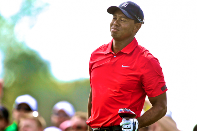 Masters 2014: Playing the Waiting Game with Tiger Woods
