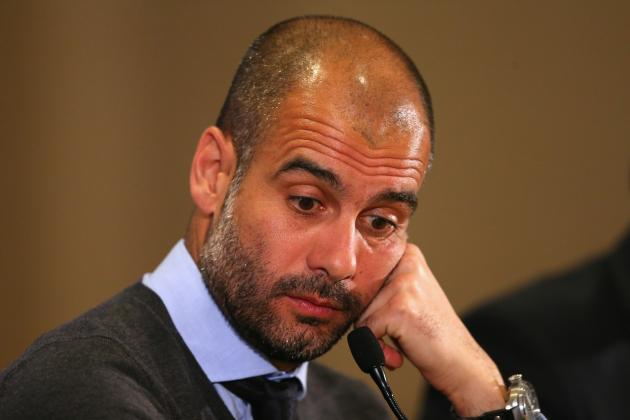 Pep Guardiola Tells David Moyes Not to Blame Sir Alex Ferguson for United Woe