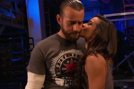 CM Punk and AJ Lee Engaged