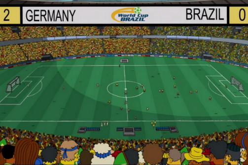 The Simpsons Predicts 2014 World Cup Final, Which Homer Referees in Latest Show