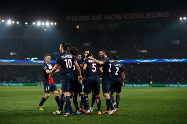 How Paris Saint-Germain Will Line Up Against Chelsea