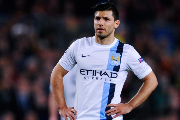 Sergio Aguero Reveals Champions League Is Crucial to Manchester City Future