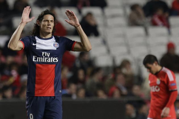 Edinson Cavani Alerts Manchester United and Chelsea with PSG Complaints