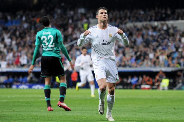 Champions League 2014: Top Stats, Live Stream and TV Info for Quarter-Final