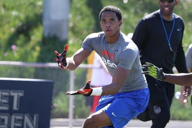 Which Team in Cordell Broadus' Top 5 Is Best Fit for 4-Star WR?