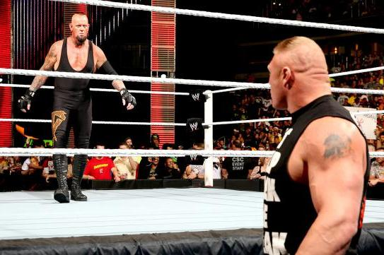 Undertaker vs. Brock Lesnar: Projecting Match's Spot on WrestleMania Card
