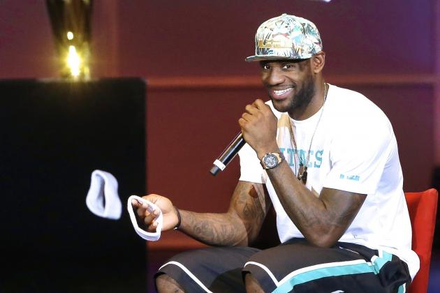 LeBron James Rhymes About Money, Cribs and Rings in Cringe-Worthy Rap Song