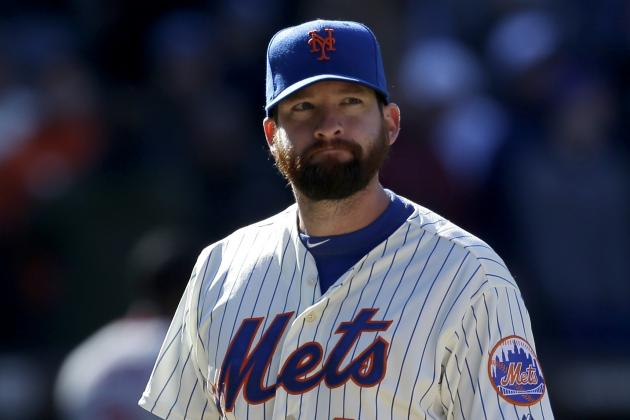 Mets' Closer Bobby Parnell Has Partial Tear in MCL