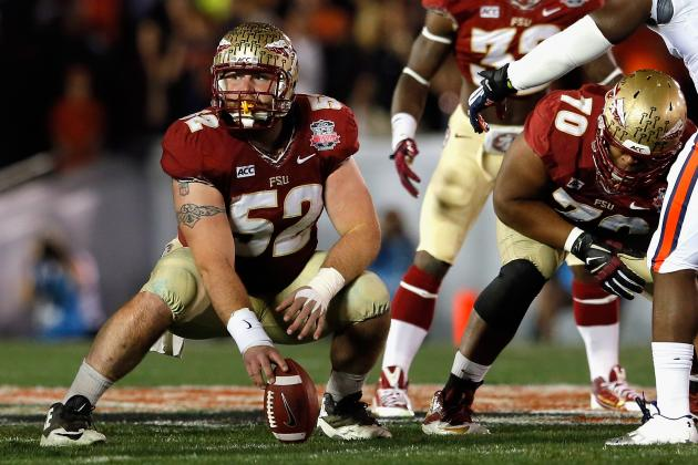 Bryan Stork NFL Draft 2014: Highlights, Scouting Report for Patriots C
