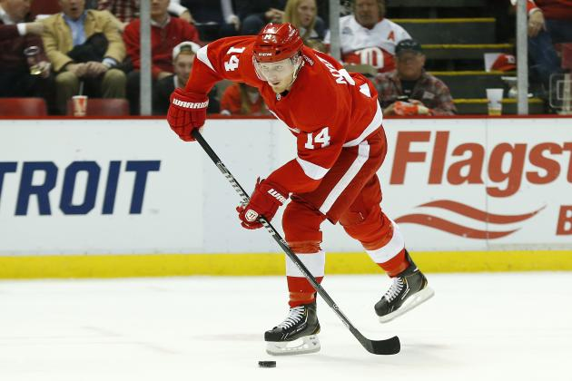 Is Detroit Red Wings' Gustav Nyquist Really This Good or Just Getting Lucky?