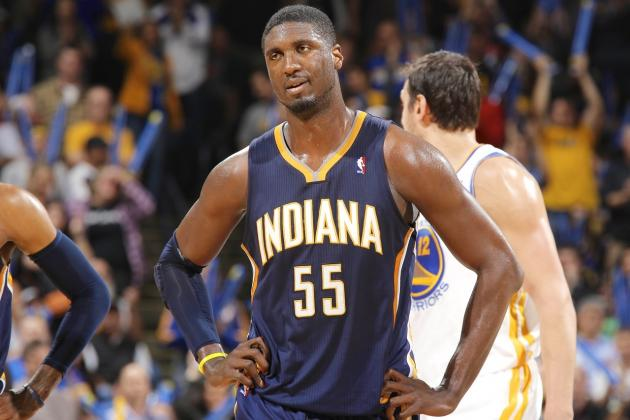 Roy Hibbert Says Pacers 'Don't Deserve' No. 1 Playoff Seed