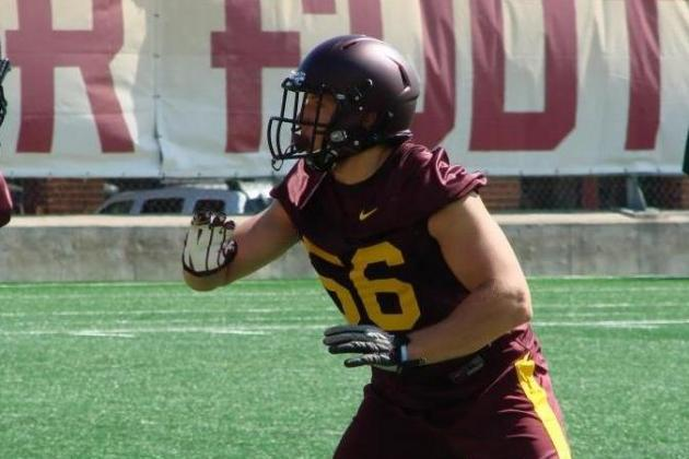 LB Cody Poock's ACL Injury Means Gophers to Rely More on Nick Rallis