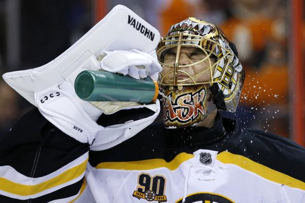 Bruins' Tuukka Rask Earns 100th Career NHL Victory