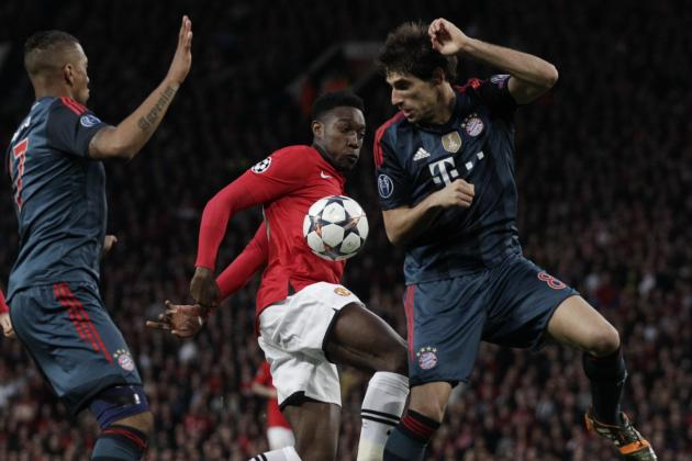 GIF: Danny Welbeck Goes Close for Manchester United vs. Bayern Munich