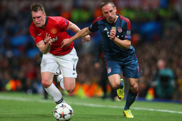 Manchester United vs. Bayern Munich: Live Player Ratings