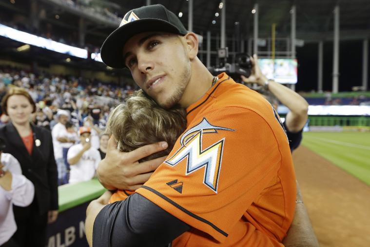 Marlins' Jose Fernandez's Grandmother Watches Him Pitch in MLB for First Time
