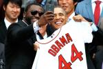 Red Sox Visit Obama at White House