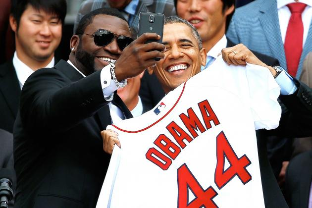 World Series Champion Boston Red Sox Visit President Obama at the White House