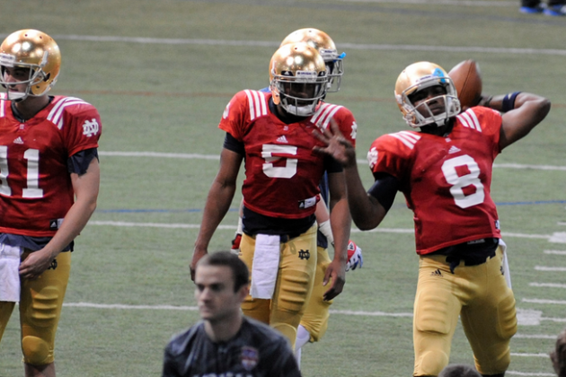 Why Notre Dame Will Need to Use 2 Quarterbacks in 2014