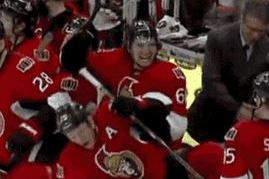 Senators' Mark Stone Gets Left Hanging, Provides Awesome Reaction