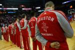 Lawsuit: Rockets Players Taunted Server with Gay Slurs