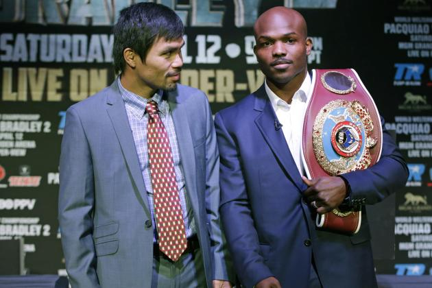 Pacquiao vs. Bradley 2: Tracing Evolution of Both Fighters Ahead of Main Event