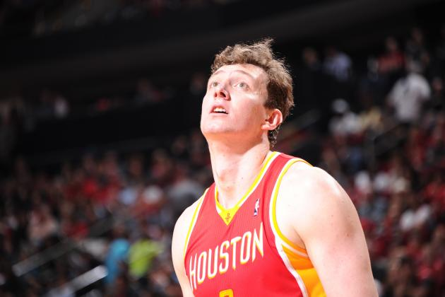 Omer Asik Shoots Ugly Air-Ball Free Throw Against Brooklyn Nets