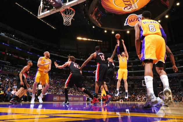 Portland Trail Blazers vs. Los Angeles Lakers: Live Score and Analysis