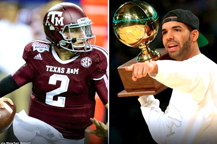 Drake Releases New Track, 'Draft Day,' Dedicated to Johnny Manziel
