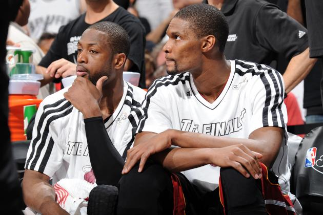 Is Chris Bosh or Dwyane Wade More Critical to Miami Heat's Three-Peat Bid?