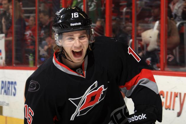 Elias Lindholm Coming of Age as Carolina Hurricanes' 2013-14 Season Winds Down